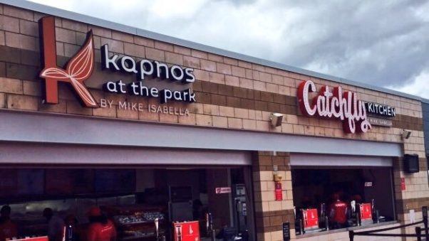 Kapnos at the Park, Catchfly and G Sandwich Shop (not pictured) will not reopen at Nationals Park this season. (Photo: Kapnos/Twitter)