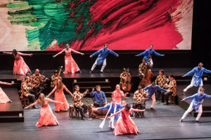 The Mark Morris Dance Group and Silk Road Ensamble join together to present <em>Layla and Majnun</em> at the Kennedy Center on Friday and Saturday. (Photo: Kennedy Center)