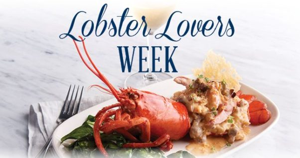 Oceanaire is hosting Lobster Lovers Week from March 17-24 with a three-course, prix fixe all lobster meal. (Photo: Oceanaire)