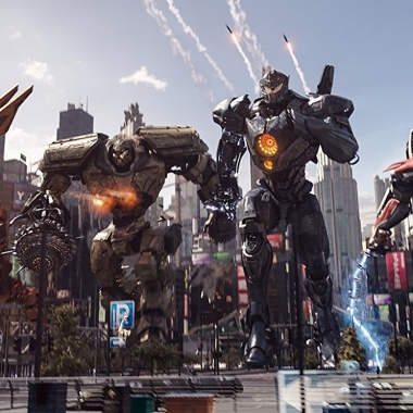 Pacific Rim Uprising debuted with $28.12 million to dethrone the Black Panther. (Photo: Universal Pictures)