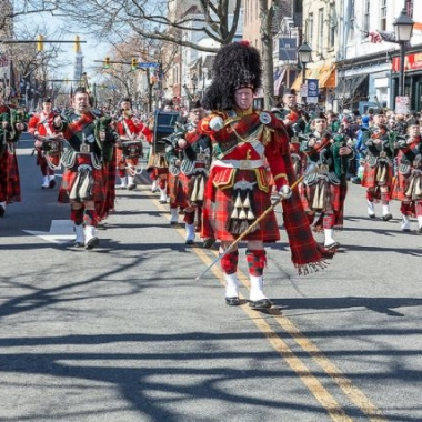 Alexandria's annual St. Patrick's Day parade steps off at 12:15 p.m. along King Street on Saturday. (Photo: Bellyshaners)