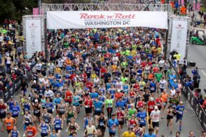 The Rock 'n' Roll Marathon returns to D.C. on Saturday. (Photo: Rock 'n' Roll Marathon)