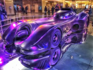 Tim Burton's Batmobile is now on display at the National Museum of American History. (Photo: rollerbladerdc/Instagram)
