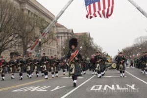 D.C.'s St. Patrick's Day Parade takes place at noon on Sunday along Constitution Avenue between Seventh and 17th Streets NW. (Photo: Wayne Miller)