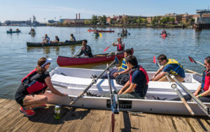 Canoe and kayak, play games, do art projects, fish and explore the Anacoastia River at the Anacostia River Festival on Sunday. (Photo: 11th Street Bridge Park)