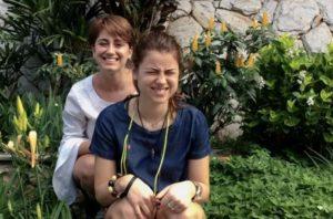 Silver Spring filmmaker Nina Vallado (left) and her sister, Lisa, in <em>Sisterly</em>. (Photo: Nina Vallado)