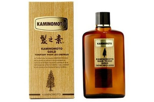 Kaminomoto Hair Tonic Gold uses an ingredient from the Japanese cypress tree to prevent hair loss and stimulate hair growth. (Photo: Kaminoto)
