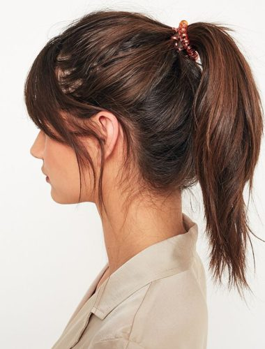These telephone cord looking hair ties do not mess up a blowout. (Photo: Urban Outfitters)