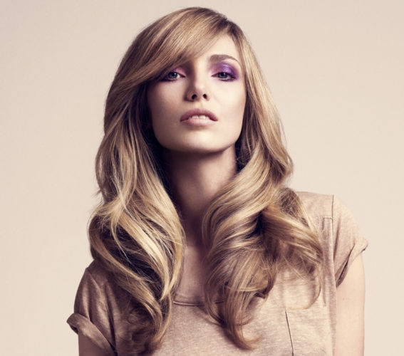 Keep your blowout looking fresh by wetting and blow drying only the front around days three and four. (Photo: Headmasters)