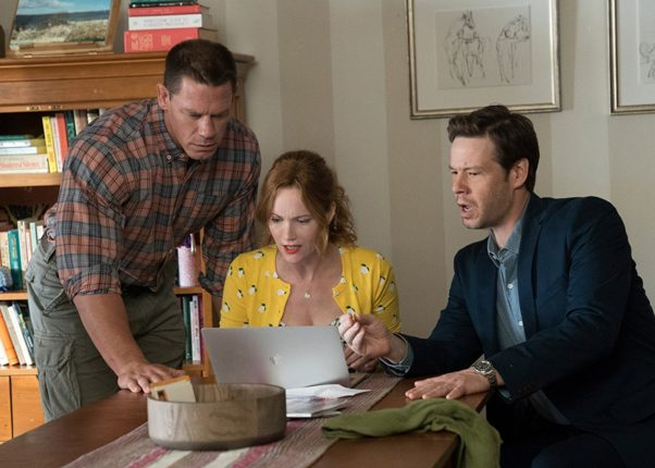 The prom-themed comedy <em>Blockers</em> finished in third over the weekend with $20.56 million.  (Photo: Universal Pictures)