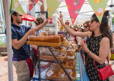 The 15th annual Georgetown French Market returns this weekend. (Photo: Bob Rives/Georgetown BID)