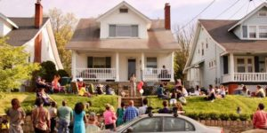 Musicians will perform on porches and stoops along Rhode Island Avenue NE from 2-6 p.m. Saturday. (Photo: Jordan Dyniewski)