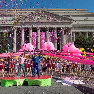 The National Cherry Blossom Festival wraps up this weekend with the National Cherry Blossom Festival Parade on Saturday from 10 a.m.-noon. (Photo: National Cherry Blossom Festival)