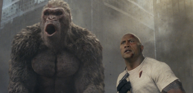 Rampage, Warner Bros. Pictures' fantasy action movie, debuted in first place last weekend with $35.75 million. (Photo: Warner Bros. Pictures)