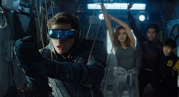 Steven Spielberg's Ready Player One debuted in first place over the weekend with $41.76 million. (Photo: Warner Bros. Pictures)