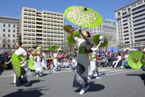 The Sakura Matsuri Japanese Street Festival from 10:30 a.m.-6 p.m. on Saturday features music, demonstartions, food, vendors and more. (Photo: Japan America Society of Washington, D.C.)
