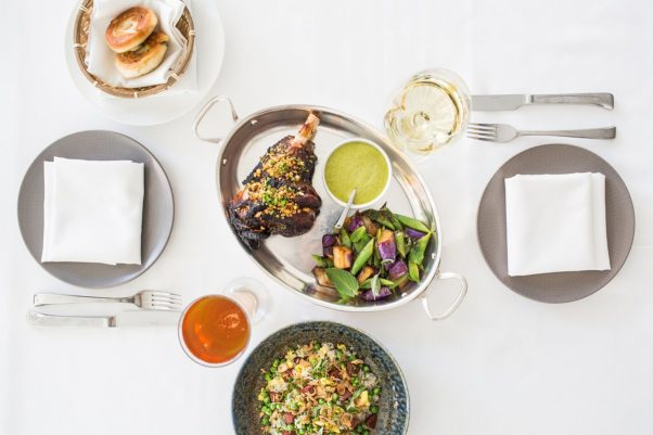 The Source by Wolfgang Puck has added a new family-style lamb dinner for two for $100. (Photo: Reema Desai)