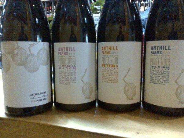 The Oval Room hosts an Anthill Farms Winery dinner on Tuesday. (Photo: Anthill Farms Winery)