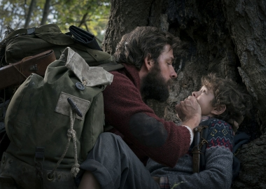 A Quiet Place, directed by and starring John Krasinski, reclaimed first place in the weekend box office with $20.91 million. (Photo: Paramount Pictures)