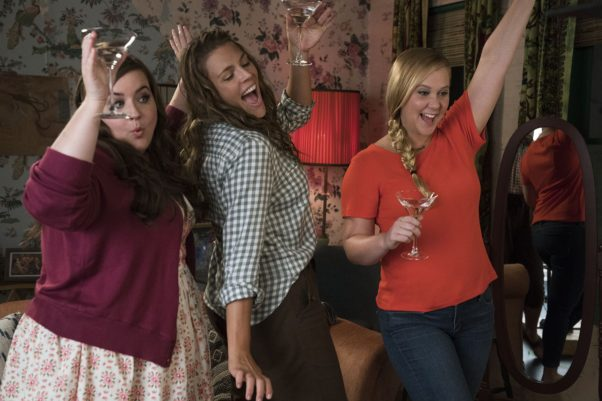 <em>I Feel Pretty</em> starring Amy Schumer (right) was the best grossing debut movie over the weekend with $16.03 million. (Photo: STX Films)