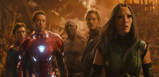 Avengers: Infinity War finished in first place for the third weekend with $62.08 million. (Photo: Marvel Studios)
