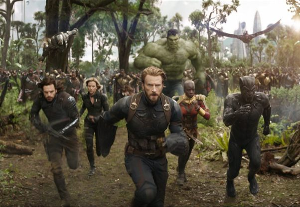 <em>Avengers: Infinity War</em> finished at the top of the box office again last weekend with $114.77 million. (Photo: Marvel Studios)