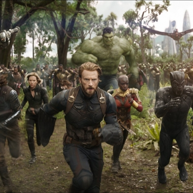 Avengers: Infinity War finished at the top of the box office again last weekend with $114.77 million. (Photo: Marvel Studios)