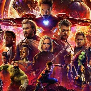 Avengers: Infinity War shattered several records last weekend, opening in first place with $257.70 million. (Photo: Marvel Studios)