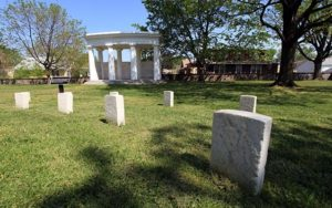 Battleground National Cemetery, one of the smallest national cemeteries, will hold a Memorial Day observance beginning at 10 a.m. Saturday. (Photo: National Park Service)