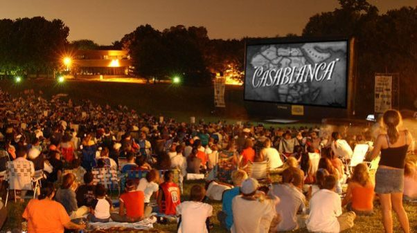 The Comcast Outdoor Film Festival Benefiting NIH Charities moves to Strathmore this August. (Photo: Comcast Xfinity Film Festival)