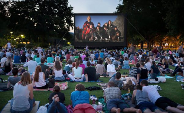 The D.C. Department of Parks and Recreation will show outdoor movies at four city recreation centers this summer. (Photo: DC DPR)