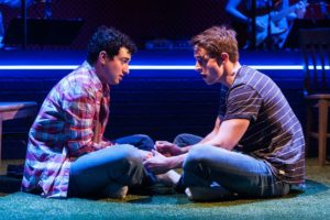 <em>Girlfriend</em> at Signature Theatre is a coming-of-age story set in the 1990s. (Photo: Christopher Mueller)