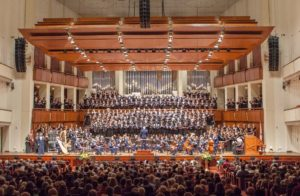 A 300-voice chorus will perform patriotic songs accompanied by the U.S. Airforce Orchestra on Sunday at the Kennedy Center. (Photo: Memorial Day Choral Festival)