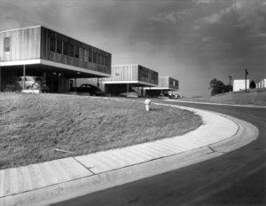 Post-war housing in Oak Ridge, Tenn. (Photo: Torkel Korling)