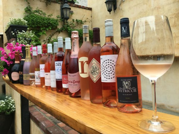 Vinoteca's outdoor rosé garden opens for the summer on Friday. (Photo: Vinoteca)