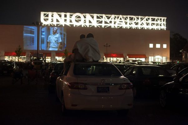 Union Market will show an outdoor movie the first Friday of the month through November. (Photo: Union Market)