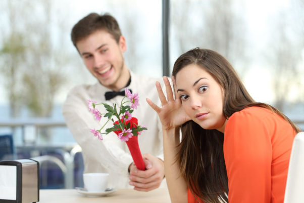 What do you do when your partner's friends flirt with you? (Photo: Shuttertock)