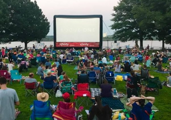 The Alexandria Outdoor Film Festival comes to Waterfront Park July 13 and 14. (Photo: Alexandria Outdoor Film Festival)