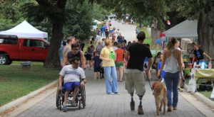 Take your pup and head to Congression Cemetery's Day of the Dog this Saturday. (Photo: Congressional Cemetery)