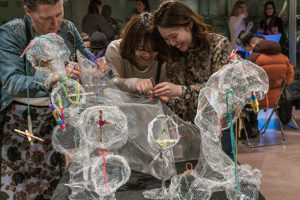 During the National Gallery of Art's Art + Play Community Weekend you can play board games, dance, go on a scavenger hunt and help build a sculpture. (Photo: National Gallery of Art)