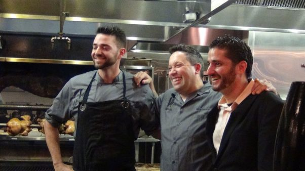 Four of Isabella's partners, including brothers George Pagonis (left) and Nick Pagonis (right), were also named in the lawsuit. (Photo: Johnna Knows Good Food)