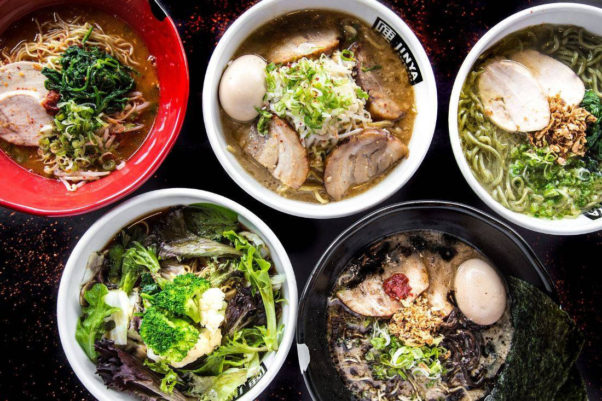 Jinya Ramen Bar, which serves five kinds of ramen with more than 25 toppings, will open in North Bethesda's Pike & Rose development this summer. (Photo: Jinya Ramen Bar)