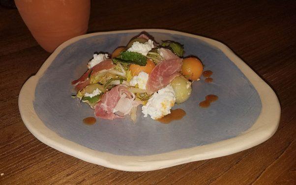 The melon salad from Buena Vida. (Photo: Mark Heckathorn/DC on Heels)