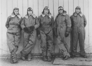 A photo of airmail pilots in Omaha, Neb. (Photo: National Postal Museum)