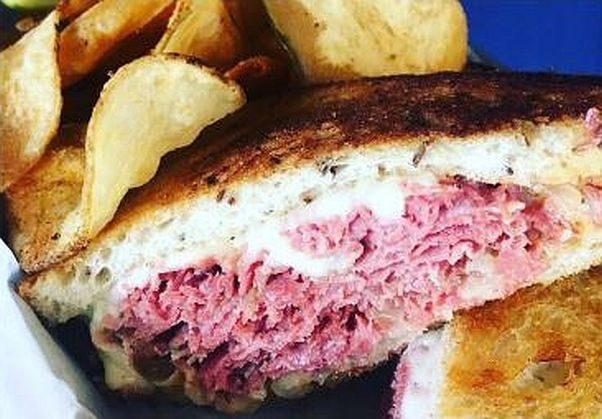 A reuben sandwich from The Good Silver's new menu. (Photo: The Good Silver)