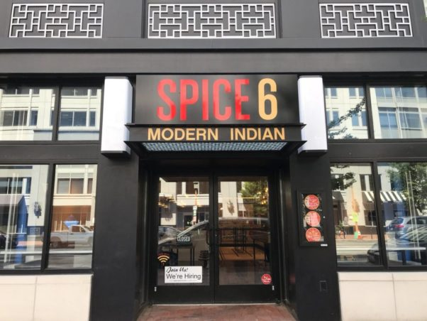 Spice 6 modern Indian restaurant opened in Chinatown last Friday. (Photo: Popville)