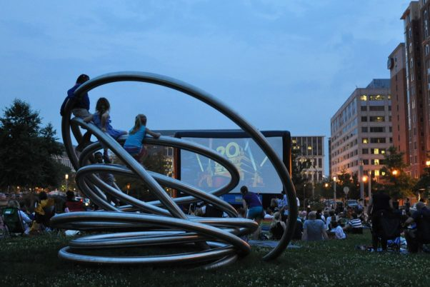 The Capitol Riverfront's Outdoor Movie Series brings films to Canal Park every Thursday (Photo: Canal Park)