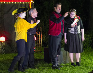 The Fat and Greasy Citizens Brigade will perform <em>Twelfth Night</em> on the lawn of Grace Episcopal Church 8 p.m. Thursday, Friday and Saturday through June 23. (Photo: Oscar Alvarez)