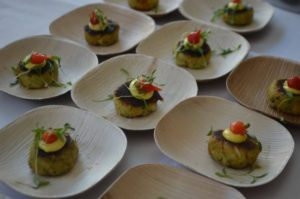 Sample crab cakes from eight area chefs along with oysters, chowder, beer, wine and more during the 13th annual D.C. Crab Cake Competition. (Photo; D.C. Food & Beverage Collective)