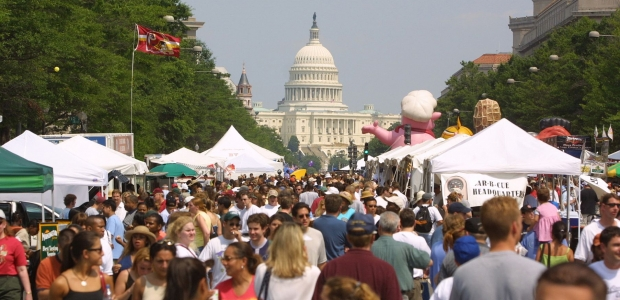 The National Capital Barbecue Battles returns to Pennsylvania Avenue this Saturday and Sunday. (Photo; National Capital Barbecue Battle)